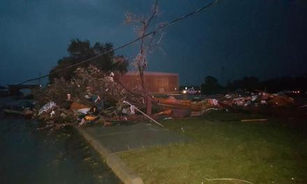 Texas tornado: tornado touched down in D'Hanis (PHOTO)