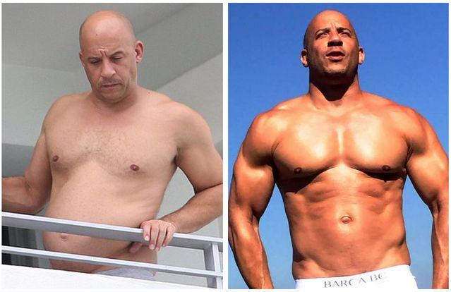 Vin Diesel Rocks Dad Bod, Fans Not Impressed