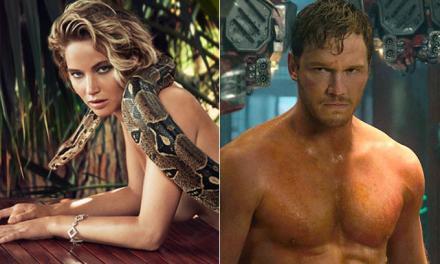 Jennifer Lawrence Was Drunk For Chris Pratt Sex Scene
