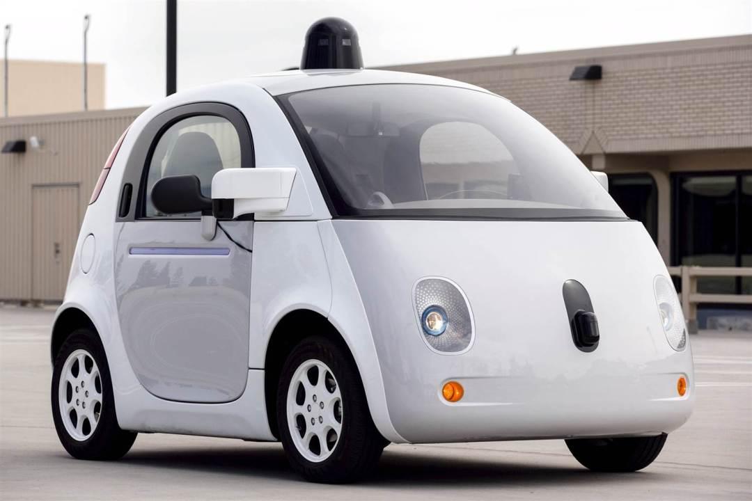 A prototype of Google's self-driving vehicle. ELIJAH NOUVELAGE / Reuters