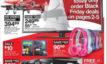 Black Friday 2015:  Target Reveals Sweet Deals