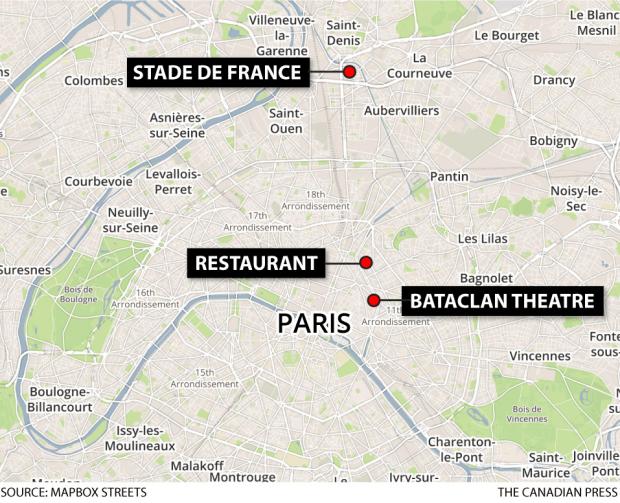 Paris shootings Update: Death toll now at 153