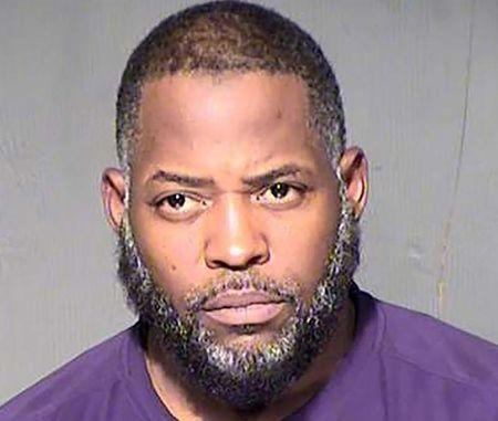 Abdul Malik Abdul Kareem is seen in an undated booking photo released by the Maricopa County Sheriff's Office in Phoenix: Abdul Malik Abdul Kareem, also known as Decarus Thomas, is seen in an undated booking photo released by the Maricopa County Sheriff's Office in Phoenix, Arizona. REUTERS/Maricopa County Sheriff's Office/Handout