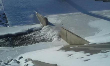 Temp At Antero Reservoir Falls To Minus 51 (PHOTO)