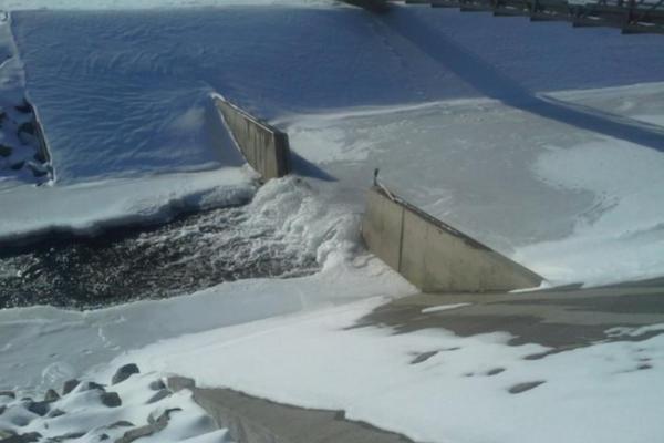 Temp At Antero Reservoir Falls To Minus 51 (PHOTO)
