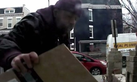 Homeowner leaves thief dog poop in a box