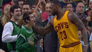 LeBron Seeks Special Olympics teen After Game