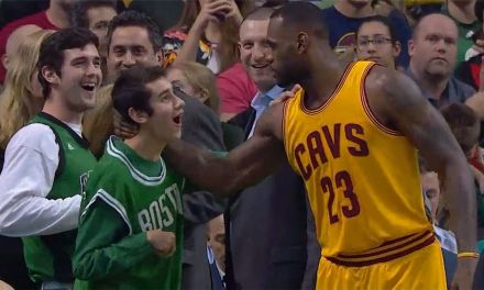 LeBron Special Olympics Athlete Share Touching Movement