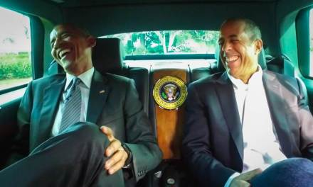 Obama Will Be On 'Comedians in Cars'