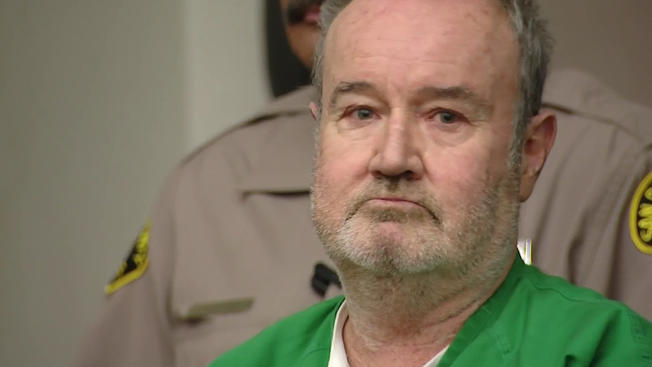 Peter Robbins appears in court on Monday, Dec. 7, 2015 for his formal sentencing.
