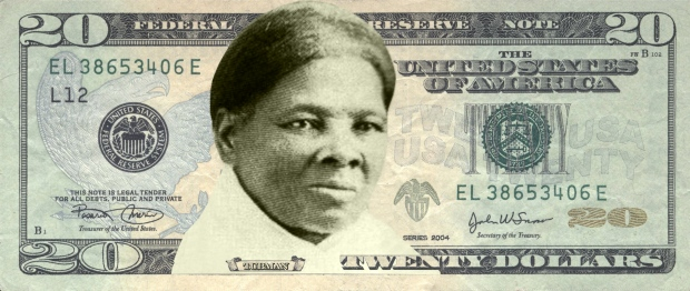 A mock-up redesign of a $20 bill replaces seventh U.S. president Andrew Jackson with abolitionist and human-rights champion Harriet Tubman. The redesign of the $20 was proposed by the group Women On 20s, but the U.S. Treasury says it is instead focused on revamping the $10 note, which is due for an update for security reasons. (Women On 20s)