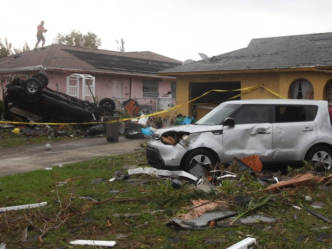 Cape Coral tornado Damages Nearly 180 Buildings (PHOTO)