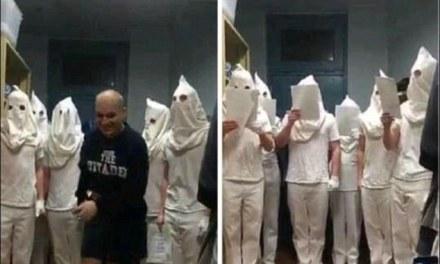 Citadel cadets disciplined after posing in KKK-style hoods