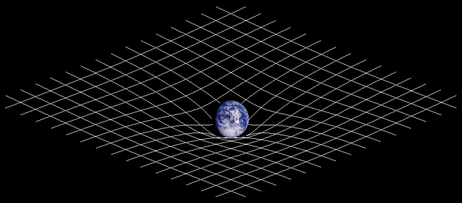 n physics, gravitational waves are ripples in the curvature of spacetime which propagate as waves, travelling outward from the source. Predicted in 1916[1][2] by Albert Einstein on the basis of his theory of general relativity,[3][4] gravitational waves theoretically transport energy as gravitational radiation. Sources of detectable gravitational waves could possibly include binary star systems composed of white dwarfs, neutron stars, or black holes. The existence of gravitational waves is a possible consequence of the Lorentz invariance of general relativity since it brings the concept of a limiting speed of propagation of the physical interactions with it. Gravitational waves cannot exist in the Newtonian theory of gravitation, in which physical interactions propagate at infinite speed.
