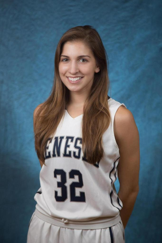 Kelsey Annese is seen in an undated photo provided by SUNY Geneseo. Three bodies were discovered Sunday, Jan. 17, 2016, near the State University of New York at Geneseo after Geneseo police responded to the home around 6 a.m. Sunday following a 911 call. The dead were identified as 21-year-old Kelsey Annese, of Webster, New York; 24-year-old Matthew Hutchinson, of Vancouver, British Columbia; and 24-year-old Colin Kingston, of Geneseo. Police said Annese and Hutchinson were students at Geneseo and Kingston was a former student. (Keith Walters/SUNY Geneseo via AP)