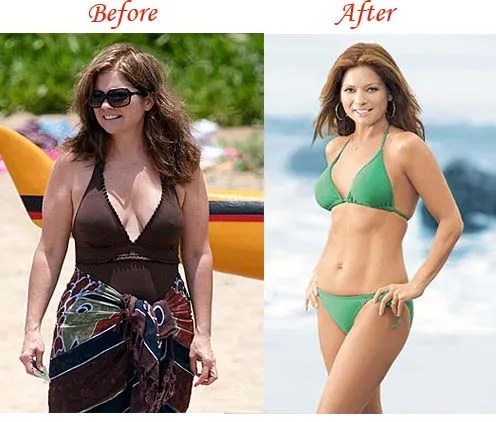 Valerie Bertinelli before and after