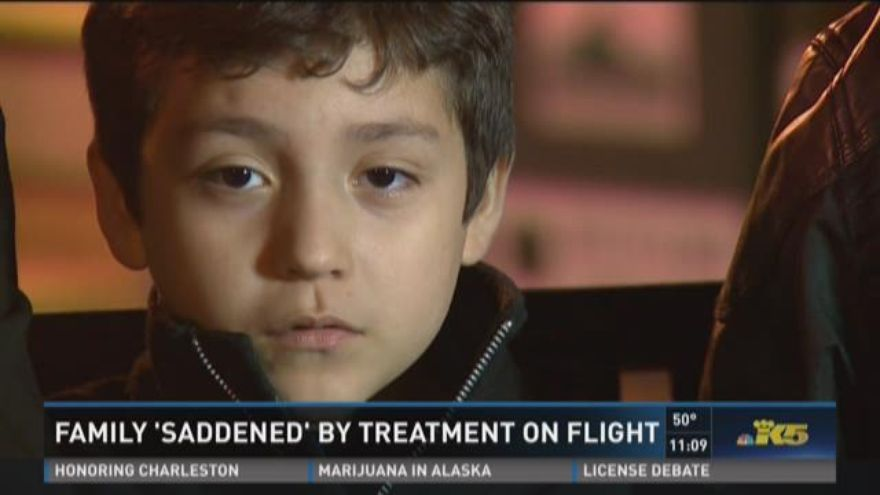 Boy's Allergies In Plane Clapping Incident Leads To Family Getting Kicked Off Flight (PHOTO)