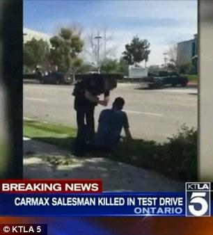 Car salesman killed