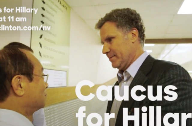 Will Ferrell Now A Hillary Clinton Supporter (VIDEO)
