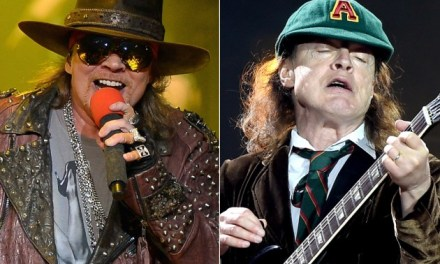Axl Rose To Front AC/DC:  Reports