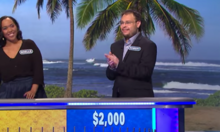Robert Santoli Crushes It On Wheel Of Fortune