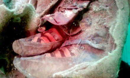 1500-Year-Old Mummy Wearing Adidas: Proof Of Time Travel?