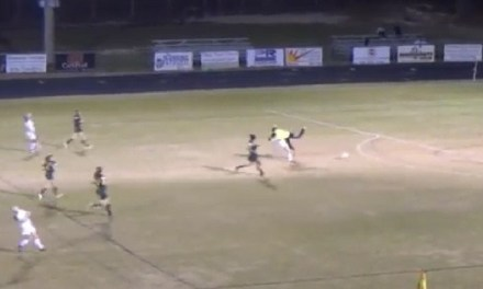 Pine Forest goalie suspended for vicious Football Style Hit