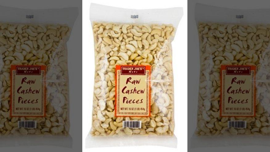 Recall of cashews