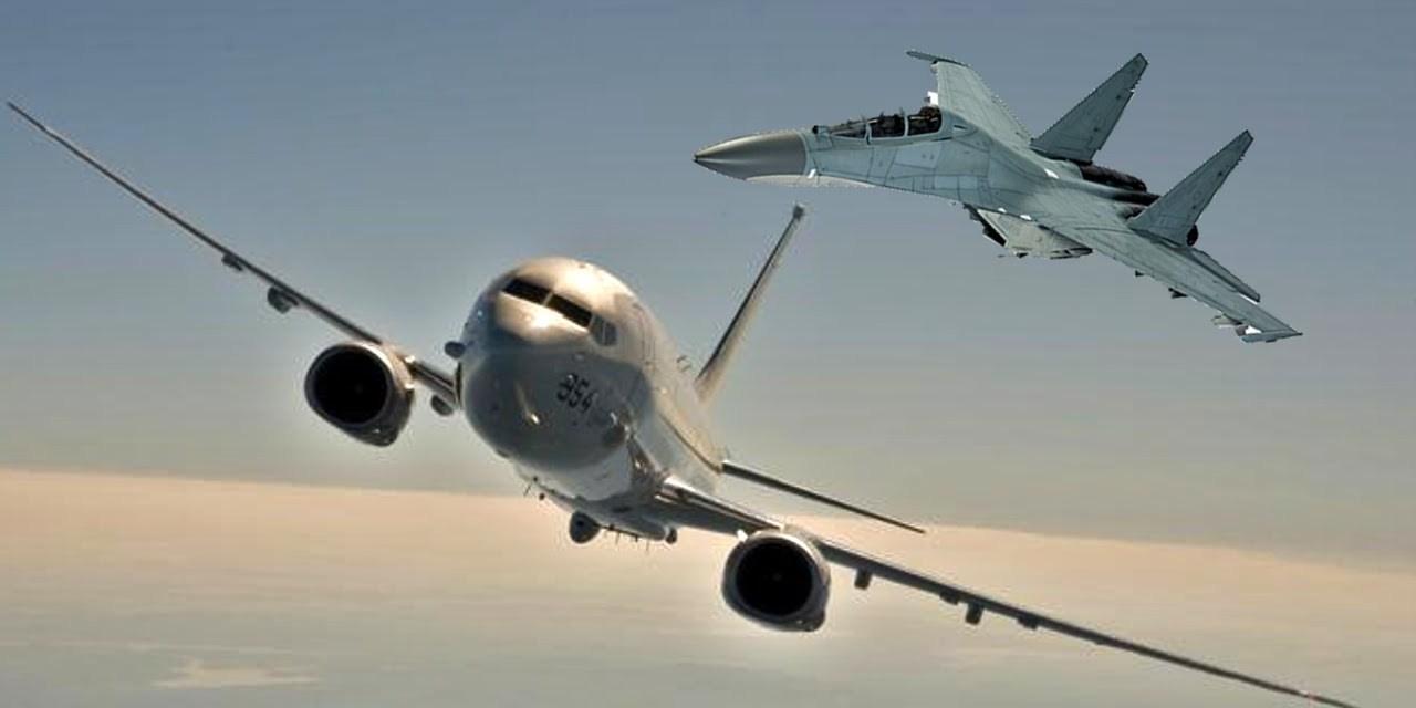 Chinese Aircraft Intercept U.S. Military Plane Over South China Sea