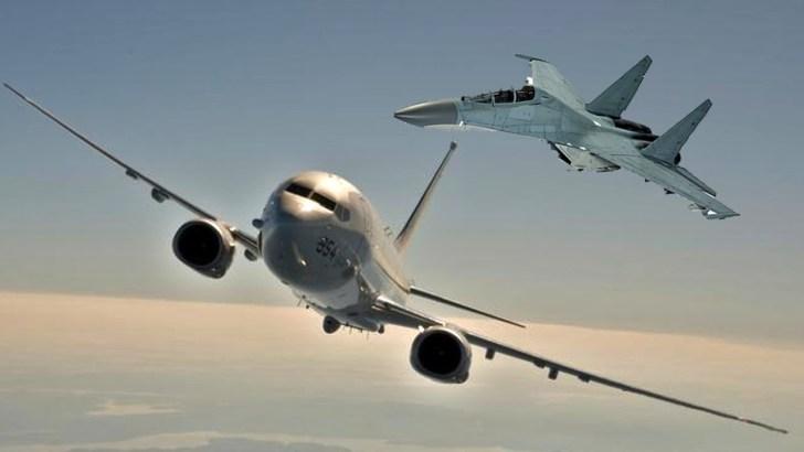 Chinese aircraft intercept