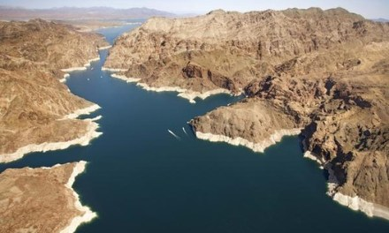 Lake Mead's water level Lowest Level Since 1937