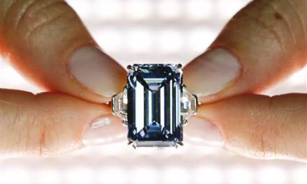 'Oppenheimer Blue' diamond Sells For A Cool $57.5 Million