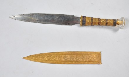 King Tutankhamun dagger: Tut's Dagger Was made from Iron From A meteorite