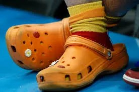 crocs bad for feet