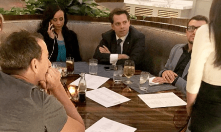 The Mooch Having Last Washington Supper at Trump Hotel