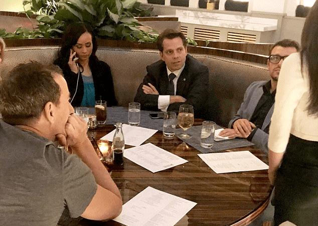 The Mooch Having Last Washington Supper at Trump Hotel