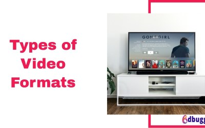7 Types of Video Formats for your Website