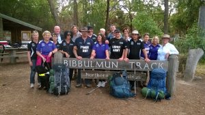 Bibbulmun Track Group photo