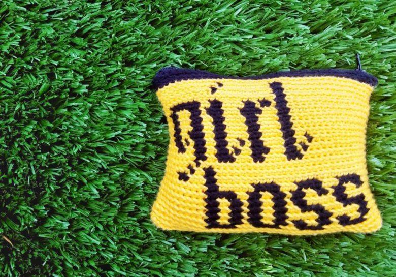 The Girl Boss Crochet Pouch Designs By Key