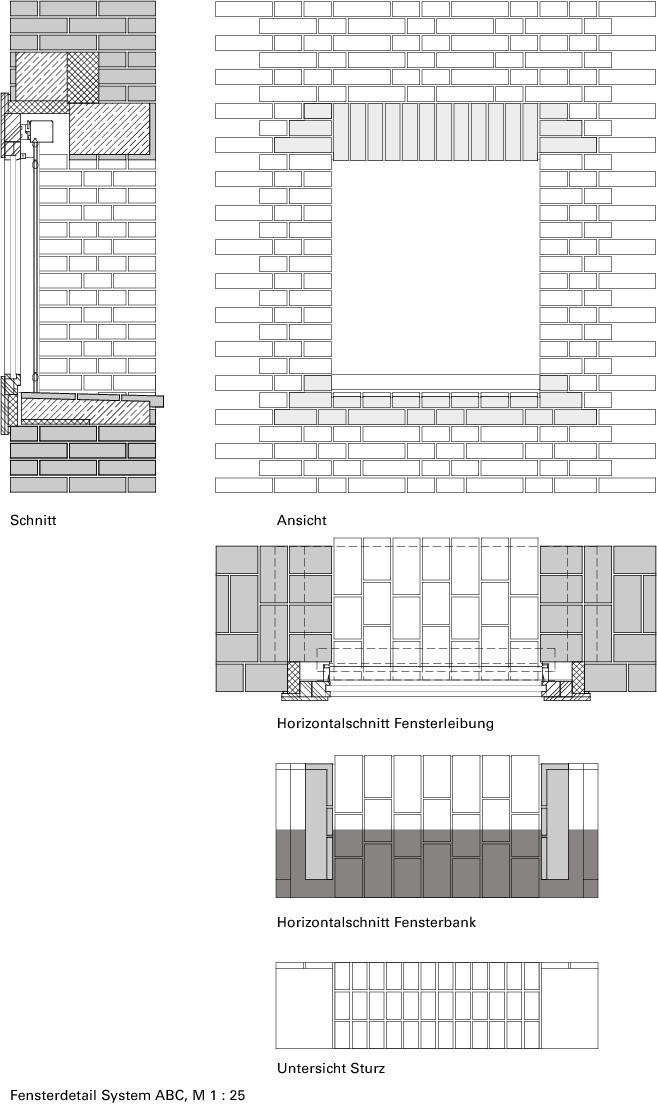 Fenster Detail Grundriss Haus Deko Ideen