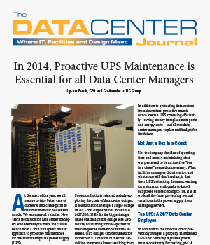 Data Center Journal Article