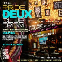 Pride Deux Club Crawl
