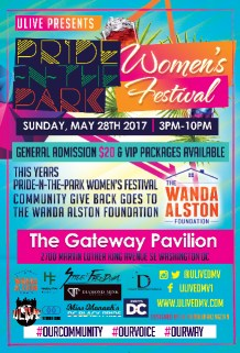 ULIVE Pride-N-The-Park Women's Festival 2017