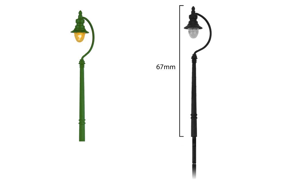 Swan Neck Lamp 1x SR/BR (Green)
