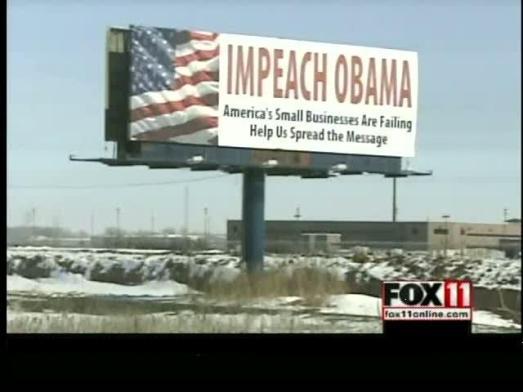 impeach obama billboard