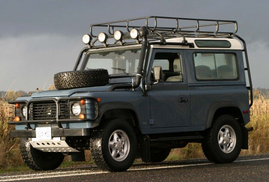 land rover roundup