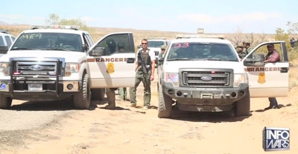 Oath Keepers Step in Between Mining Operation and BLM in New Brewing Standoff