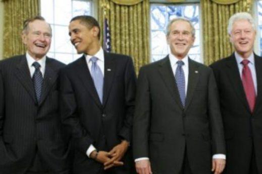 presidents-carter-bush-clinton-bush-obama