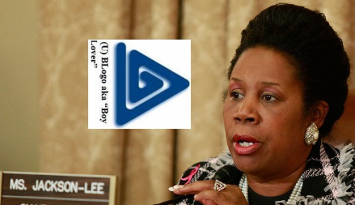 Congresswoman Sheila Jackson Lee's pedophile jewelry