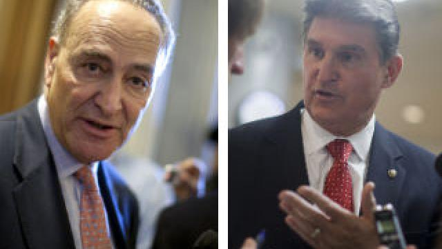 "Democrat Senator Joe Manchin tells Schumer to ""Kiss my you know what""... I Will Vote for Kavanaugh If I Want To"